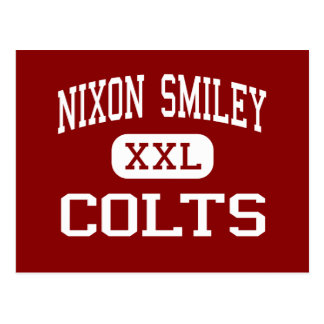 Nixon Smiley - Colts - Middle - Smiley Texas Postcard