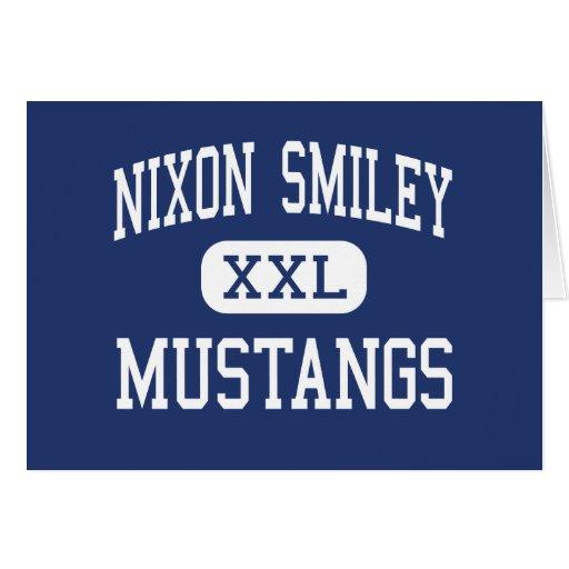 Nixon Smiley - Mustangs - High - Nixon Texas Card