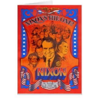 Nixon Tarjeta De Felicitación