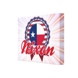 Nixon TX Gallery Wrap Canvas