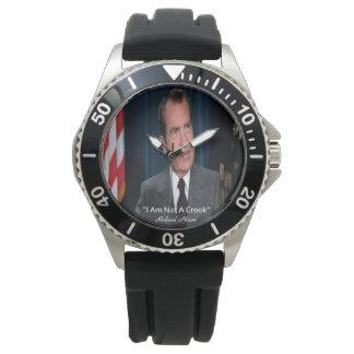 Nixon y yo no somos un reloj del ladrón