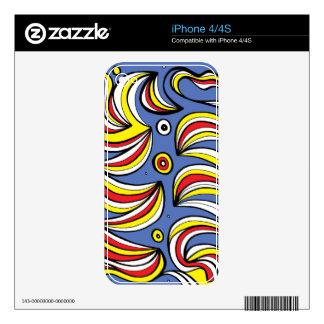 Niza atractivo constante amistoso skin para el iPhone 4S