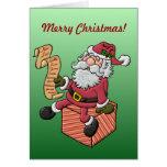 Niza la tarjeta de Navidad de la lista
