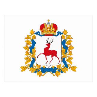 Nizhnynovgorod Coat of Arms Postcard