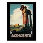 Nizzoli Agrigento Sicily Italy Post Card