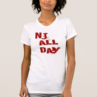 NJ All Day Red T-Shirt