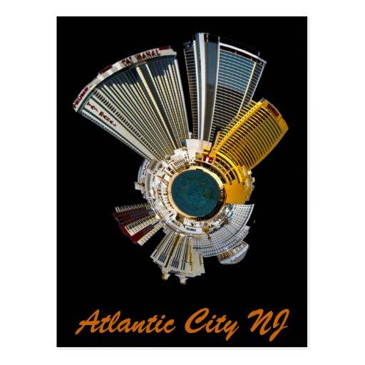 nj de Atlantic City Postales