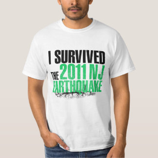 NJ Earthquake Survivor tee