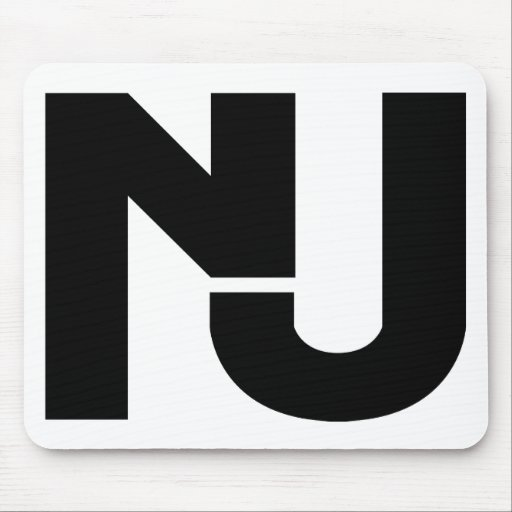 NJ Graphic Mouse Pad