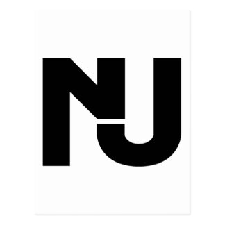 NJ Graphic Postcard