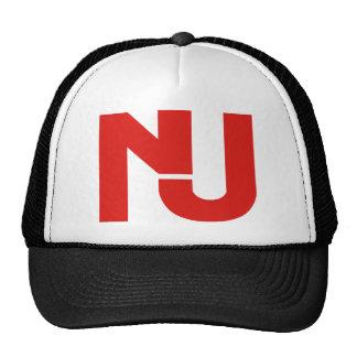 NJ Graphic (Red) Trucker Hat