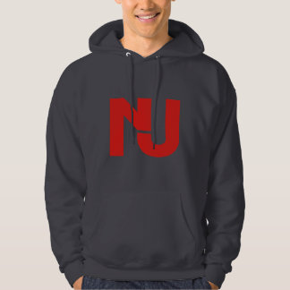 NJ Graphic (Red) Hooded Pullovers