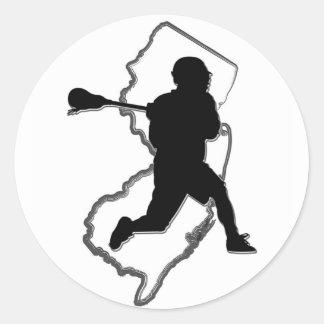 NJ Lacrosse Sticker