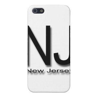 NJ New Jersey black iPhone SE/5/5s Case