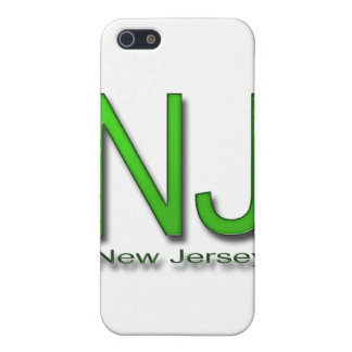 NJ New Jersey green iPhone SE/5/5s Cover