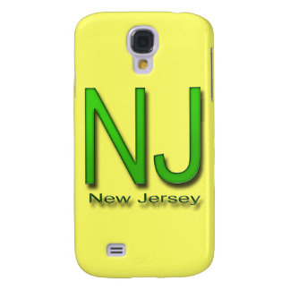 NJ New Jersey green Samsung S4 Case