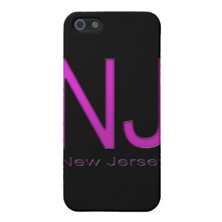 NJ New Jersey magenta iPhone SE/5/5s Case