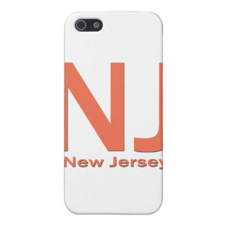 NJ New Jersey plain orange Cover For iPhone SE/5/5s
