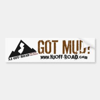 NJ OFF-ROAD GOT MUD? BUMPER STICKERS