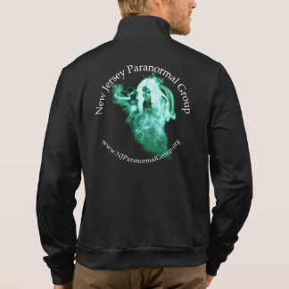 NJ Paranormal Group Men's Fleece Printed Jacket