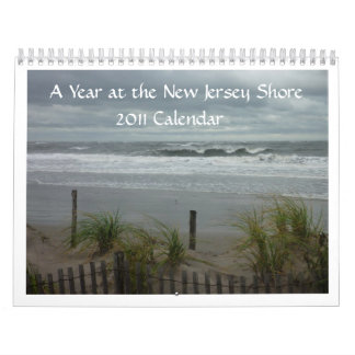 NJ Shore 2011 Calendar