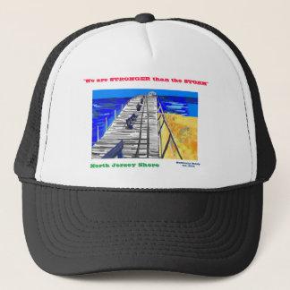 "NJ Shore Boardwalk ""Stronger than the Storm"" Cap"