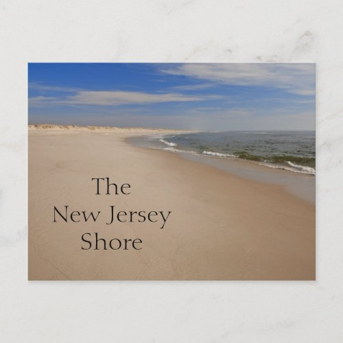 NJ Shore Postcard postcard