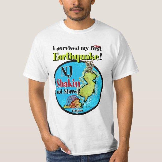 NJ - Survived the Earthquake T-Shirt