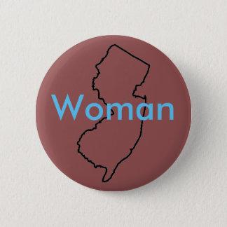 NJ Woman Button