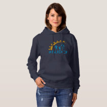 NJDCF Hashtag Women's Pullover Hoodie