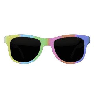 Njoku Apparel Logo VHS Effect Sunglasses. Sunglasses