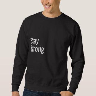 Njoku Black 'Stay Strong' Sweatshirt. Sweatshirt