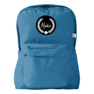 Njoku Blue Wreath Backpack #2.