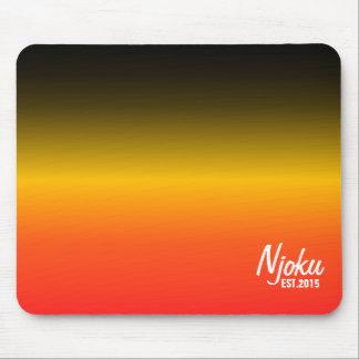 Njoku 'Est.2015' BYR Gradient Mousepad. Mouse Pad