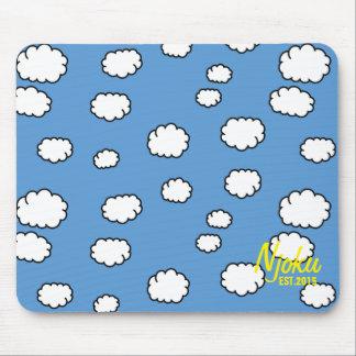 Njoku 'Est.2015' Cloud Mousepad. Mouse Pad