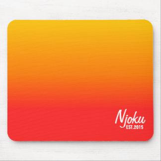Njoku 'Est.2015' Flame Gradient Mousepad. Mouse Pad