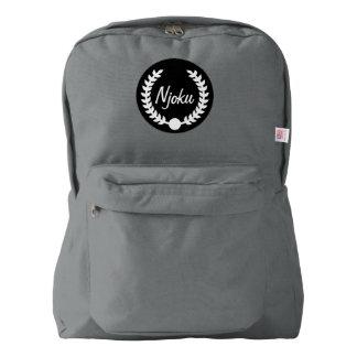 Njoku Grey Wreath Backpack #2.