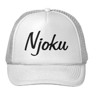 Njoku Logo Hat. Trucker Hat