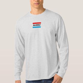 """Njoku """"R+B"""" barra la camiseta larga de la ceniza"""