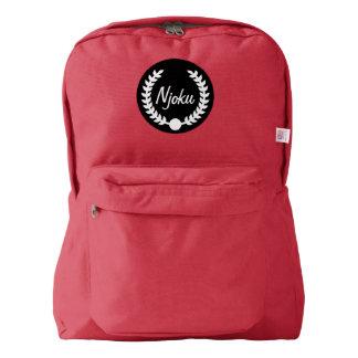 Njoku Red Wreath Backpack #2.