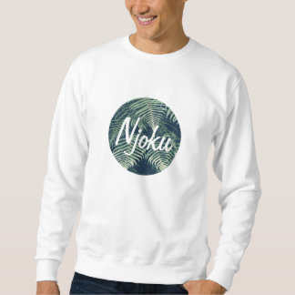 Njoku Tropical 'Circle' Logo Sweatshirt. Sweatshirt