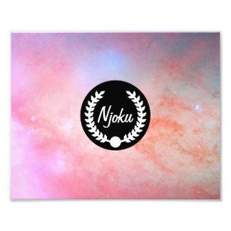 Njoku 'Wreath' Nebula Photo Enlargement.
