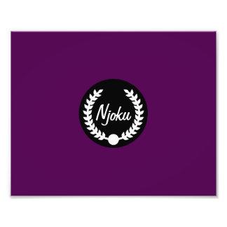 Njoku 'Wreath' Raspberry Photo Enlargement.