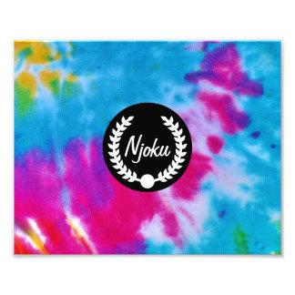 Njoku 'Wreath' Tie-Dye Photo Enlargement.