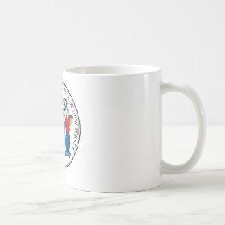 NJPI New Jersey State Seal Classic White Coffee Mug