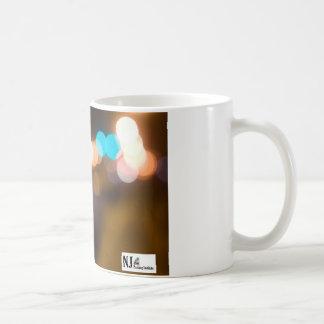 NJPI Parking meter takes on the night. Classic White Coffee Mug