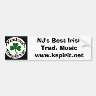 NJ's Best Irish Trad. Music Sticker
