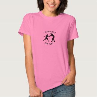 "NKFA's ""I stab people for fun!"" WOMEN'S t-shirt"