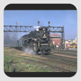 """NKP 2-8-4 Berkshire #759 with """"_Trains Square Sticker"""