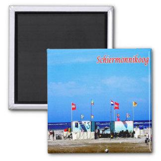NL-Netherlands-Frisian Islands-Schiermonnikoog Magnet
